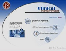 Clinical Pharmacy Systems